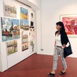 Galerie23, Eröffungsfeier / Foto: Nicola Rübenberg